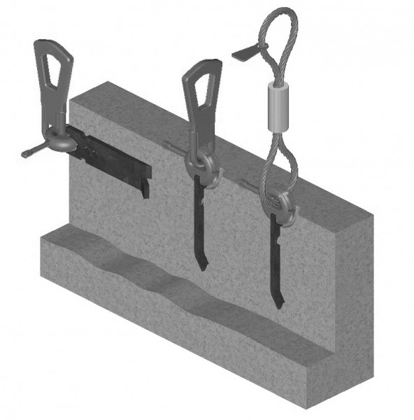 2D Strip Anchor Lifting System